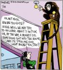 Comic Strip John Deering  Strange Brew 2013-01-18 monkey