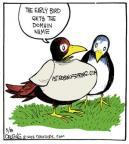 Comic Strip John Deering  Strange Brew 2013-03-08 bird