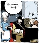 Comic Strip John Deering  Strange Brew 2013-05-17 coffee