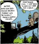 Comic Strip John Deering  Strange Brew 2013-07-22 squirrel