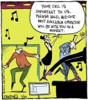 Comic Strip John Deering  Strange Brew 2013-07-24 music