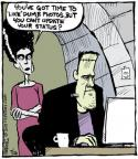 Comic Strip John Deering  Strange Brew 2013-07-26 Facebook