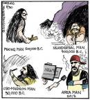 Comic Strip John Deering  Strange Brew 2013-08-30 news media