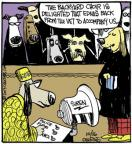 Comic Strip John Deering  Strange Brew 2013-10-16 music