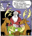 Comic Strip John Deering  Strange Brew 2013-12-11 Christmas