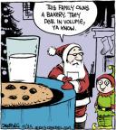 Comic Strip John Deering  Strange Brew 2013-12-25 Christmas