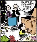 Comic Strip John Deering  Strange Brew 2013-12-26 Christmas