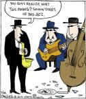 Comic Strip John Deering  Strange Brew 2014-03-18 jazz