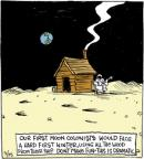 Comic Strip John Deering  Strange Brew 2014-03-25 cold