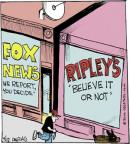Comic Strip John Deering  Strange Brew 2014-04-17 fake news