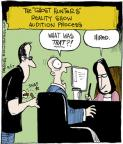 Comic Strip John Deering  Strange Brew 2014-05-17 hunter
