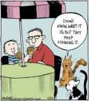 Comic Strip John Deering  Strange Brew 2014-06-23 ice cream