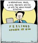 Comic Strip John Deering  Strange Brew 2014-07-26 news media