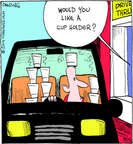 Comic Strip John Deering  Strange Brew 2014-08-15 drive-thru