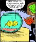 Comic Strip John Deering  Strange Brew 2014-08-23 author