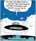 Comic Strip John Deering  Strange Brew 2015-04-10 science