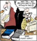 Comic Strip John Deering  Strange Brew 2015-06-27 literary
