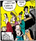 Comic Strip John Deering  Strange Brew 2015-08-10 cold