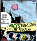 Comic Strip John Deering  Strange Brew 2015-11-25 Thanksgiving