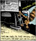Comic Strip John Deering  Strange Brew 2016-07-29 leap