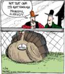 Comic Strip John Deering  Strange Brew 2016-11-14 Thanksgiving
