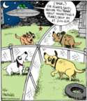 Comic Strip John Deering  Strange Brew 2017-04-10 dog bark