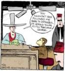 Comic Strip John Deering  Strange Brew 2017-04-25 monkey