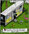 Comic Strip John Deering  Strange Brew 2017-07-29 house