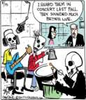 Comic Strip John Deering  Strange Brew 2017-08-15 music