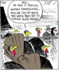 Comic Strip John Deering  Strange Brew 2017-11-24 Christmas shopping