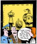 Comic Strip John Deering  Strange Brew 2017-11-25 Christmas