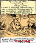 Comic Strip John Deering  Strange Brew 2018-01-18 cold