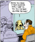 Comic Strip John Deering  Strange Brew 2018-01-20 dog