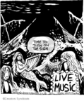 Comic Strip John Deering  Strange Brew 2007-10-27 music