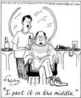 Comic Strip Mike Twohy  That's Life 2002-12-27 haircut