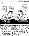 Comic Strip Mike Twohy  That's Life 2003-04-04 apology