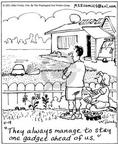 Comic Strip Mike Twohy  That's Life 2003-04-19 gardening