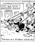 Comic Strip Mike Twohy  That's Life 2003-04-24 dog training