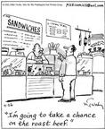 Comic Strip Mike Twohy  That's Life 2003-04-26 food quality