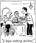 Comic Strip Mike Twohy  That's Life 2004-01-24 diner