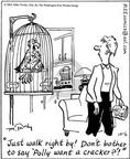 Comic Strip Mike Twohy  That's Life 2003-10-06 bird