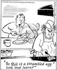 Comic Strip Mike Twohy  That's Life 2003-10-21 cooking