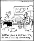 Comic Strip Mike Twohy  That's Life 2004-03-24 divorce