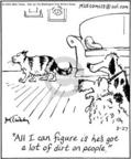 Comic Strip Mike Twohy  That's Life 2004-08-27 dog and cat