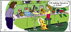 Comic Strip Mike Twohy  That's Life 2004-11-07 dog treat