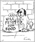 Comic Strip Mike Twohy  That's Life 2005-07-01 dog food