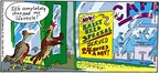 Comic Strip Mike Twohy  That's Life 2005-07-03 bird food