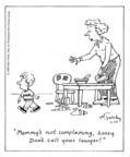 Comic Strip Mike Twohy  That's Life 1999-03-29 parenting