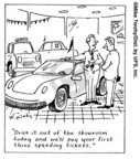 Comic Strip Mike Twohy  That's Life 2007-07-10 automobile